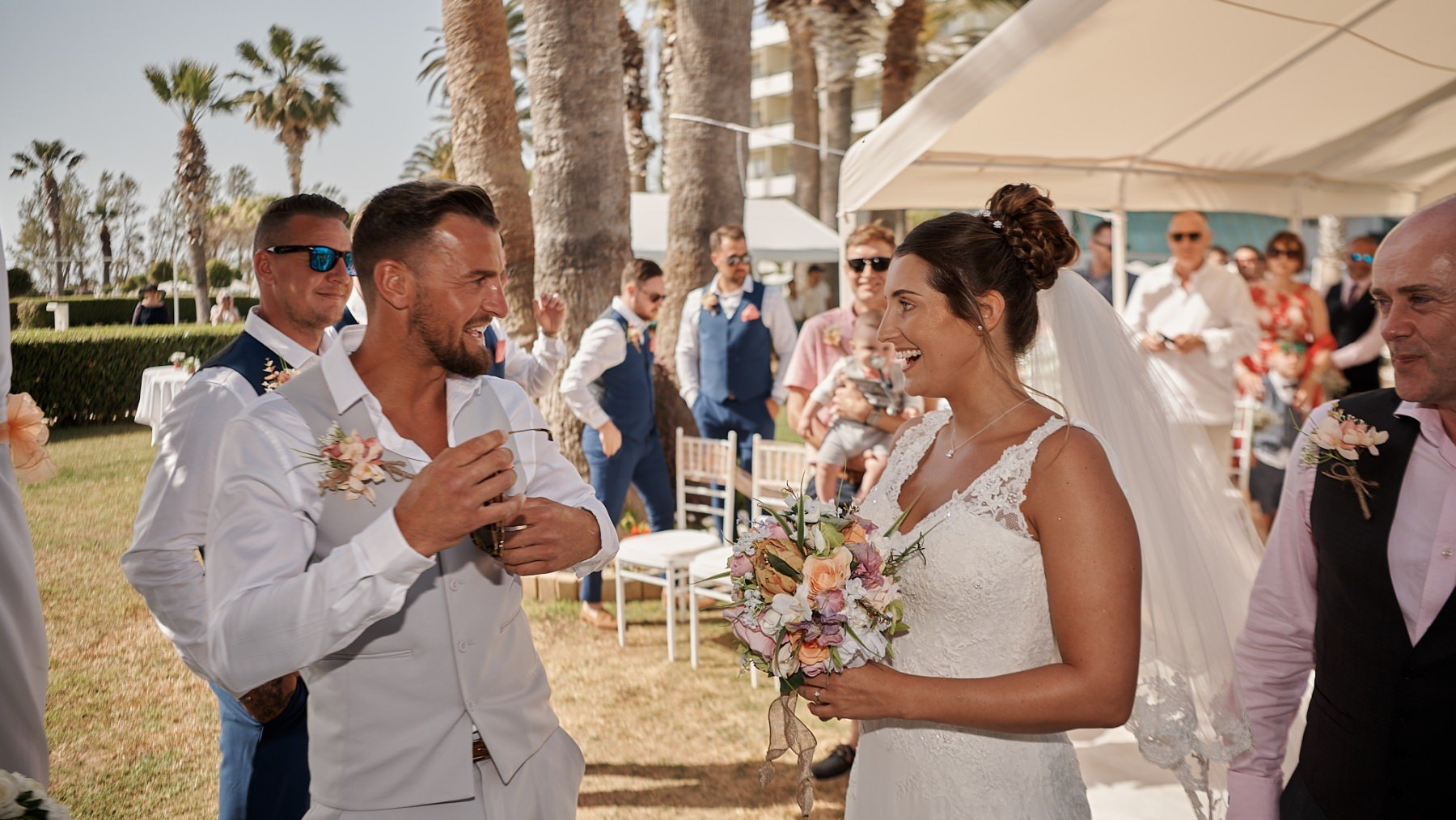 The Wedding of Hannah and Ross at the Louis Imperial Beach Hotel in Paphos