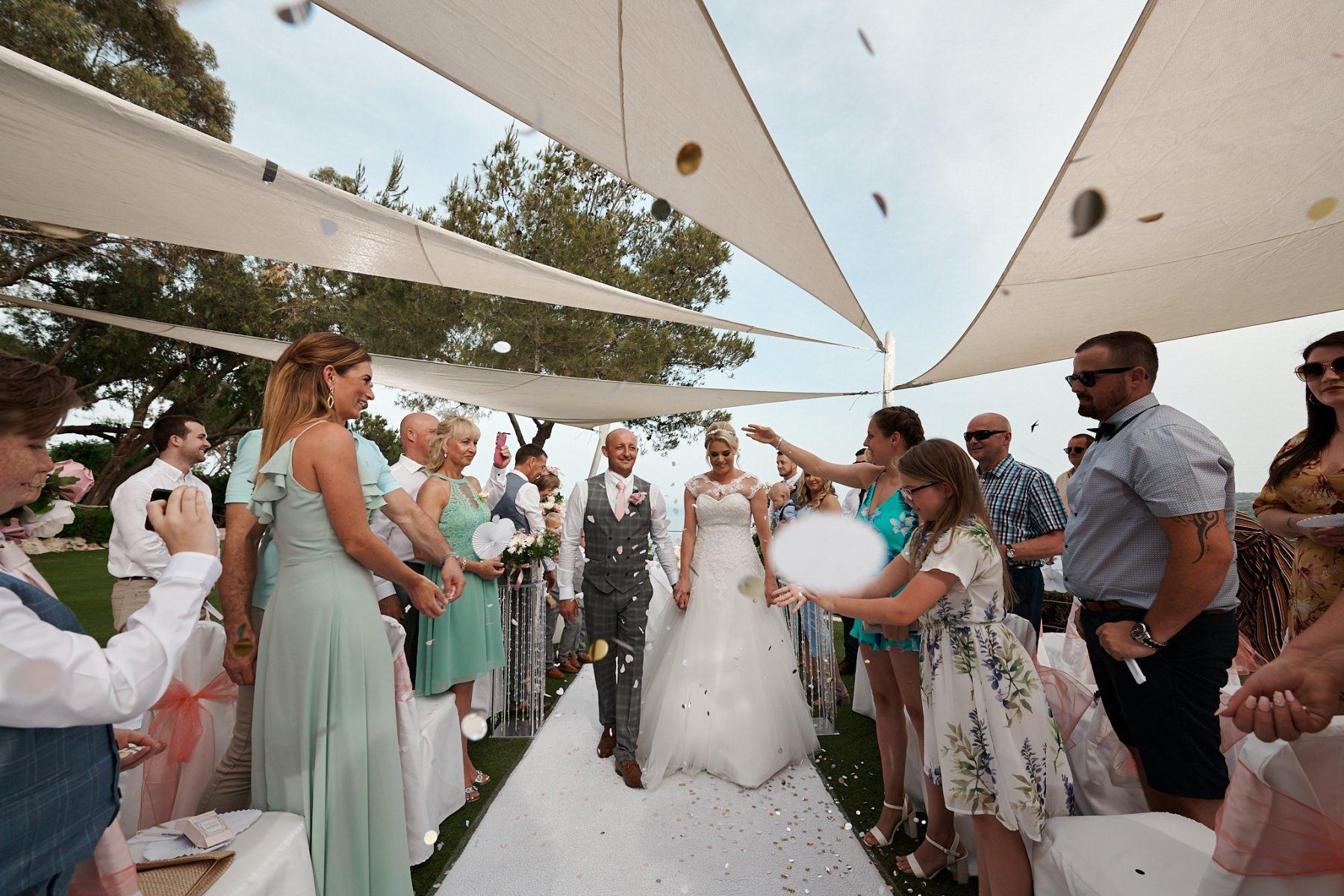 The wedding of Julie and Craig at the Grecian Parlk Hotel in Protaras, Ayia Napa. May 2019