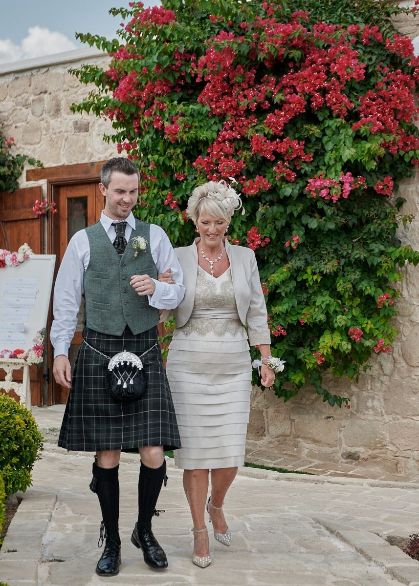 The Scottish wedding of Kirsten and Ryan, held in the Liopetro venue in Kouklia, nestled in the Cypriot countryside overlooking the Mediterranean Sea