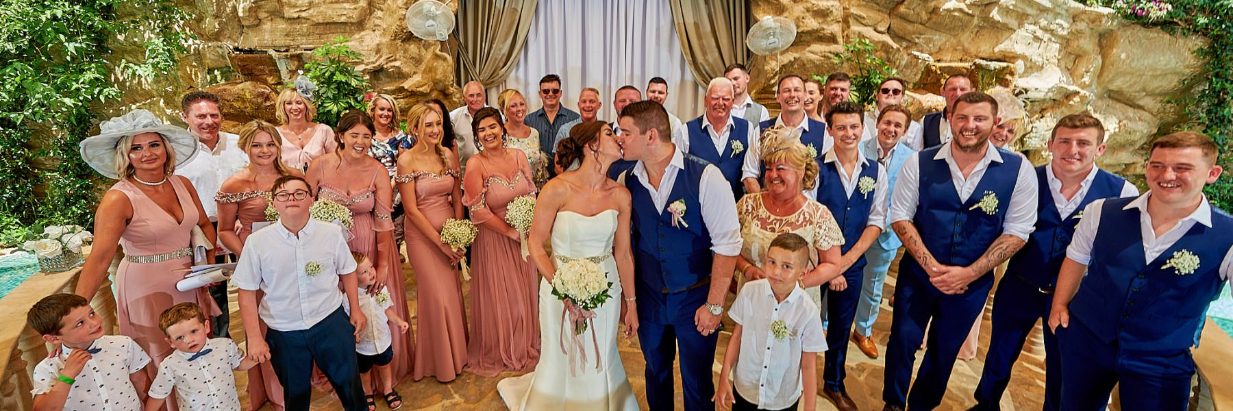 Photograph from the wedding of Shauna and Bradley at the Olympic Lagoon Resort in Ayia Napa