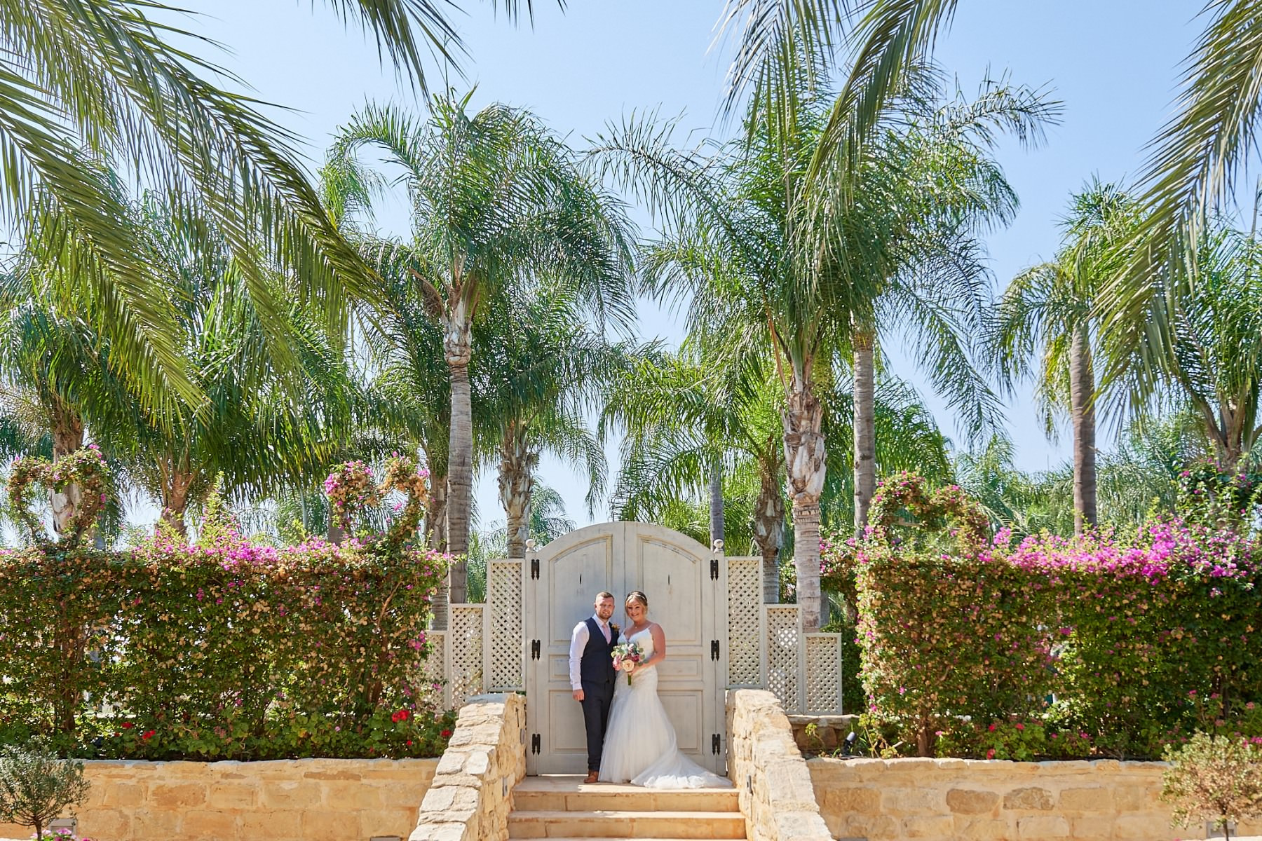 Wedding photograph, taken in Cyprus by Richard King
