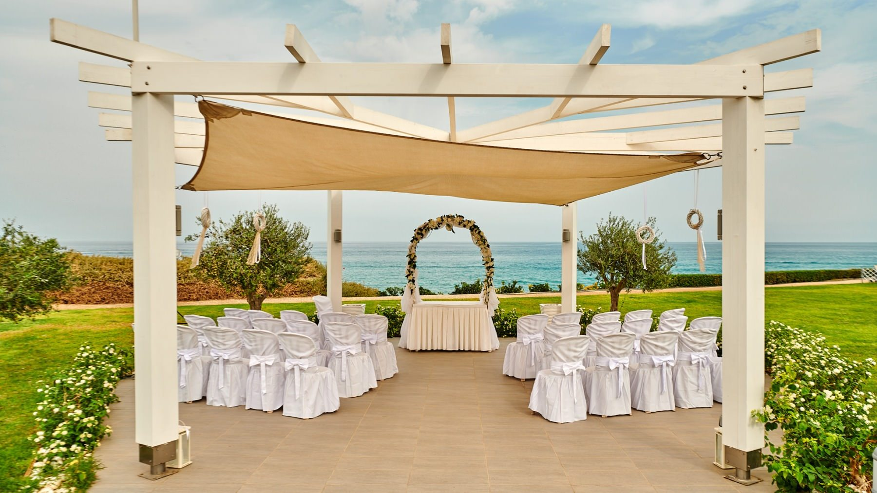 The wedding of Natalie and Steve at the Pernera Beach Hotel in Protaras