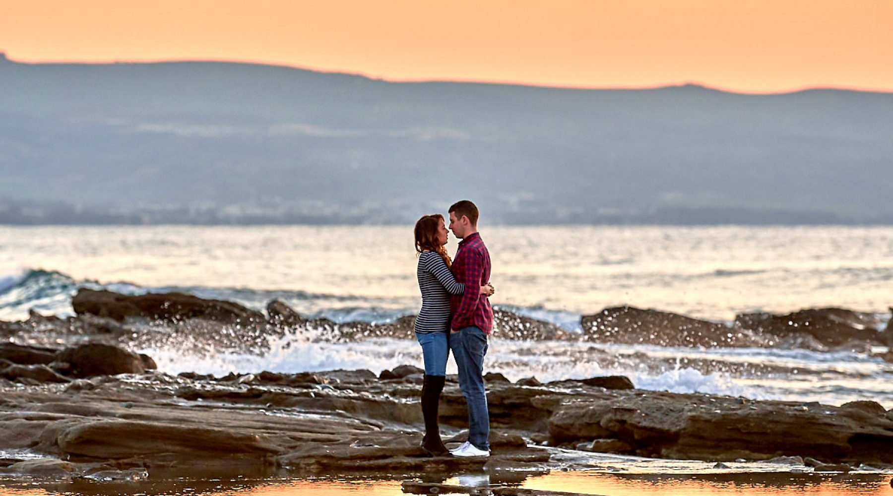 Sue and Max – Engagement shoot – Argaka Beach, Polis – Feb 2018