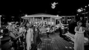 Beth and Leon – Agia Napa – Atlantica Aeneas Resort – August 2018 – Black and White