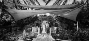 Catherine and Michael – Olympic Lagoon Resort – Ayia Napa – Monochrome – September 2018
