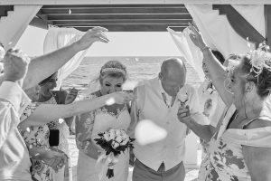 Kara & Ian – Sentido Cypria Bay – Paphos – Monochrome – September 2018