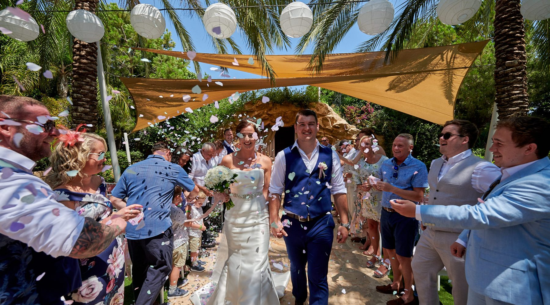 Shauna and Bradley's Stunning Olympian Wedding // July 2019